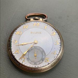 Bulova antique or vintage pocket watch